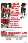 From Russia With Love 6 Movie Poster Canvas Picture Art Print Premium  A0 - A4 £15.66 GBP on eBay
