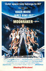 Moonraker 4 Movie Poster Canvas Picture Art Print Premium Quality A0 - A4 £27.49 GBP on eBay