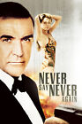 Never Say Never Again 6 Movie Poster Canvas Picture Art Print Premium A0 - A4 £2.49 GBP on eBay