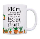 Funny Mom Mug Thanks for Keeping Me Alive I Feel a Lot Coffee Mug Tea Cup