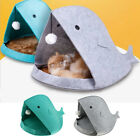 Shark Shaped Pet House Cave Bed Cushion Mat Tent for Small Medium Dog Cat