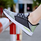 Size 7-15 Mens Flyknit Breathable Fitness Running Shoes Athletic Sports Sneakers