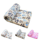 Warm Soft Pet Fleece Blanket Bed Mat Pad Cover Cushion For Dog Cat Puppy Animal
