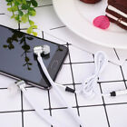 Universal 3.5mm Wired Shoelace Stereo Handfree Earbuds Earphone with Mic