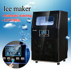 Stainless Steel Commercial Ice Maker Ice Making Machine - 40lb/ 83lb/ 100lb 38kg photo