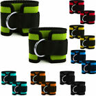 Ankle Cuff Pulley D Ring Straps Neoprene Lifting Strap Multi Cable Attachment