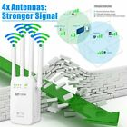1200Mbps 2,4/5G Wireless WiFi WLAN Repeater Verstärker Extender Mini Router