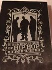 3 Generations of Hip Hop United DVD NEW