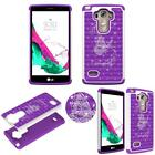 Hybrid Crystal for LG G Vista 2 H740 Shock Proof Thin Case Bling Case Dual Layer