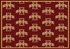 Iowa State Cyclones NCAA Team Repeat Indoor Area Rug