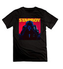Men's The Weeknd Starboy New Album Cover Short Sleeve T-shirt