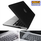 "Black/Clear Hard Case+Keyboard cover+LCD For Apple Mac MacBook Air Pro 13"" 15"