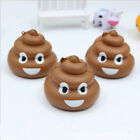 3D Squishy Funny Poo Squeeze Sticker Anti-Stress Toy Decor For Mobile Cell Phone