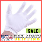 12 Pairs White Cotton Glove Inspection Jewelry Coin Handling Clean Room Gloves