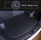 Handmade Leather Car Trunk Mat Cargo Liner Tray for Chevrolet Malibu 2012-2015