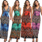Yummy Bee Maxi Dress Long Party Summer Evening Beach Boho Stretch Plus Size 8-18