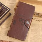 GUBINTU Fashion Men Long Style Money Wallet Vintage PU Leather Card Holder MC