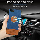 360 ° Full Protect Magnetic Patch TPU Phone Case Cover Car Smartphone