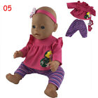 Doll Clothes For 43cm Zapf Baby Born Doll Jumpsuit Suit Doll Accessories Gift HQ