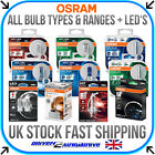 Osram All Automotive Bulbs H1 H3 H4 H7 H11 Hb3 Hb4 W5w Wy5w C5w D1s D2s & More!