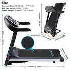3.0HP CONFIDENCE PLUS HEAVY DUTY MOTORISED ELECTRIC TREADMILL RUNNING MACHINE 02