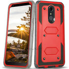 REFINED ARMOR Rugged Case Cover LG Stylo 4/3/2V/2 Plus BUILT-IN SCREEN PROTECTOR