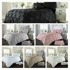 Pintuck Diamond Duvet Cover Set With Pillowcase - Alford Quilt Cover Bedding Set