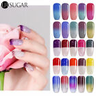 UR Sugar Color Changing Thermal Gel Polish Glitter Snowflake UV LED Gel Nails