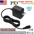 For HP 45w Charger AC Power Adapter Chromebook 13 G1, EliteBook Folio G1