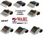 WAHL STAINLESS STEEL Attachment Blade COMB*Fit Oster A5 A6,Many Andis Clippers