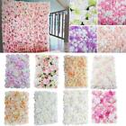 Pack of 6 Artificial Silk Rose Flower Wall Panel Home Wedding Photography Venue