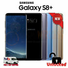 NEW SAMSUNG GALAXY S8 PLUS Black Gray Silver Blue SM-G955U1, Factory Unlocked