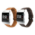 Genuine Retro Leather Watch Band Strap Watchband For Fitbit Ionic Bracelet image