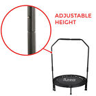 Sunny Health and Fitness 40-Inch Foldable Trampoline Rebounder, with Handlebar,