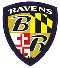Baltimore Ravens NFL Color Vinyl Decal Sticker Cornhole - New You Pick Size $14.49 USD on eBay