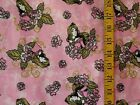 DISNEY SLEEPING BEAUTY ROSES PRINT 100% COTTON FLANNEL FABRIC BY THE 1/2  YARD