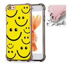 For iPhone X 6 6s 7 8 Phone Case Cover Smile Face Pattern #8015