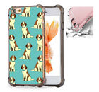 For iPhone X 6 6s 7 8 Phone Case Cover Dog Animal Pattern #7997