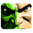Hulk Incredible Hulk Face Giant Face Gamming Mouse pad Mouse Mats