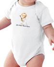 Infant creeper bodysuit One Piece t-shirt God's Music Warms Hearts Angel k-691
