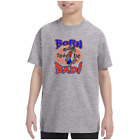 Youth Kids T-shirt Born To Be Bad Wolf k-1825