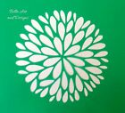 List 3 - Assorted Beautiful Flower Stencils -**Free gift with every order**