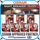 OSRAM NIGHT BREAKER SILVER +100% H1 H4 H7 H11