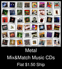 Metal(1) - Mix&Match Music CDs U Pick *NO CASE DISC ONLY*