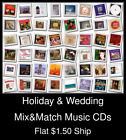 Holiday & Wedding(7) - Mix&Match Music CDs U Pick *NO CASE DISC ONLY*