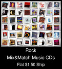 Rock(20) - Mix&Match Music CDs U Pick *NO CASE DISC ONLY*