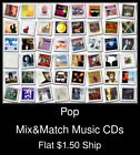 Pop(29) - Mix&Match Music CDs U Pick *NO CASE DISC ONLY*