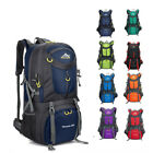 60L Mountaineering Bag Hiking Camping Bag Unisex Large Capacity Outdoor Backpack