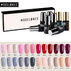 Modelones 8Pcs Set Soak Off UV Gel Nail Polish Varnish Long