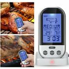 LCD Screen Display Practical Digital Wireless Barbecue BBQ Meat Thermometer ND
